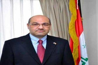 سفر رئیس جمهور عراق به سوریه تکذیب شد