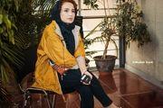 همسرجوان رامبد حوان بدون آرایش/ عکس