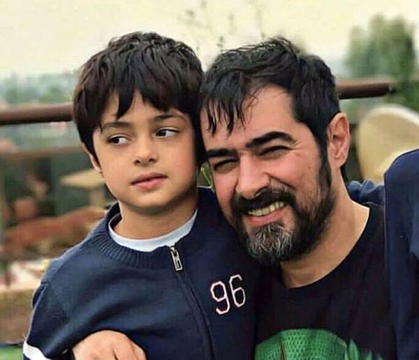 شهاب حسینی و پسر دومش + عکس