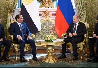 پوتین به السیسی تلگراف زد