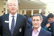 دیدار رییس فدراسیون گلف با رییس و دبیر کل کنفدراسیون گلف آسیا