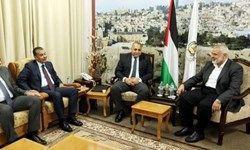 رفت و آمد هیئتهای مصری به غزه