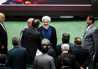 """حلقه گسترده نمایندگان اطراف """"روحانی"""""""