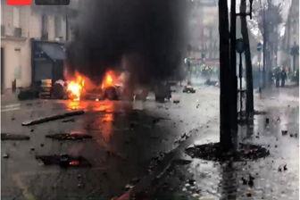 وقوع انفجار شدید در پاریس