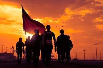 حضور پررنگ قرارگاه جهادی امام رضا(ع) در راهپیمایی اربعین حسینی