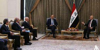 برهم صالح: اجازه نمیدهیم عراق صحنه تسویه حسابهای دیگران باشد