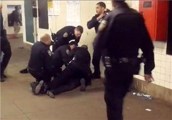 بازداشت ۳۴نفر از معترضان به خشونت پلیس آمریکا