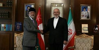 وزرای خارجه ایران و عمان در تهران به گفتگو نشستند