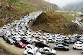 حرکت از کرج به مرزن آباد یک روز ممنوع اعلام شد