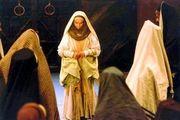 رهبر معظم انقلاب در پشت صحنه فیلم «مریم مقدس»/عکس