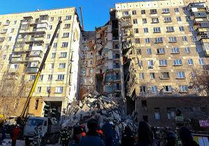 شمار قربانیان انفجار گاز در روسیه به ۲۲ نفر افزایش یافت