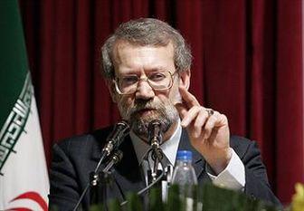 توصیه رئیس پارلمان ایران به آمریکاییها