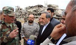 بازدید مشاور رهبری از تونل فرماندهی جبهه النصره در غوطه شرقی