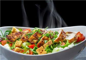 عدم مصرف غذاهای متنوع در یک وعده غذایی