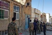 حضور نیروهای امداد و نجات بسیج شهرداری در مناطق زلزله زده/ گزارش تصویری
