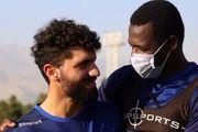لبخند محمد دانشگر به پایان روزهای سخت+ عکس