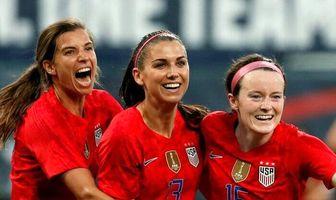 میهمانان ویژه فینال جام جهانی زنان/ عکس