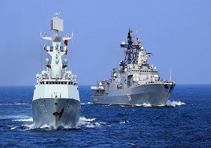 رزمایش دریایی مصر و انگلیس در دریای مدیترانه