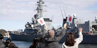 ناوشکن ژاپنی عازم دریای عمان شد