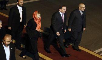 نخست وزیر سوئد وارد تهران شد