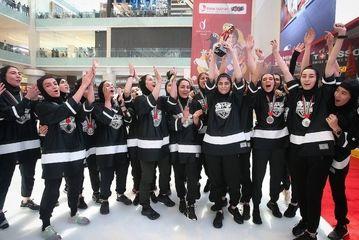 تصاویری از دختران هاکی ایران در دوبی/ گزارش تصویری