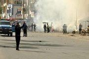 درگیری پلیس با معترضان در بصره