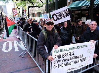 تظاهرات ضد صهیونیستی خاخامها در نیویورک/ عکس