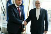 دیدار وزیر امور خارجه با وزیر امور توسعه و تجارت خارجی فنلاند