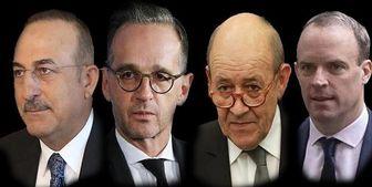 نشست ترکیه، آلمان، فرانسه و انگلیس درباره عراق، سوریه و لیبی