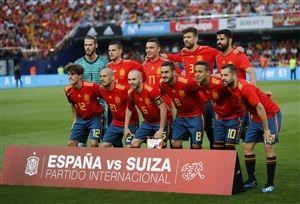 ترکیب احتمالی اسپانیا مقابل تونس+عکس