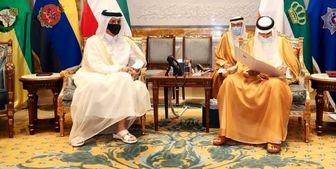 دیدار وزیر خارجه قطر با امیر کویت
