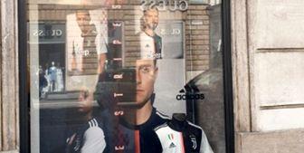 از پیراهن فصل آینده یوونتوس رونمایی شد/ عکس