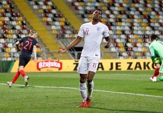 تساوی انگلیس مقابل کرواسی در بازی بدون تماشاگر