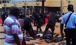 حادثه وحشتناک در فوتبال آنگولا+تصاویر