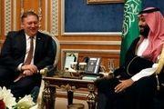 رایزنی تلفنی وزیر خارجه آمریکا با ولیعهد عربستان