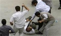 ضرب و شتم دانشجوی بسیجی توسط اراذل و اوباش