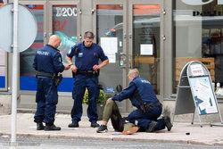 پلیس فنلاند فرد مسلح را به ضرب گلوله از پای درآورد