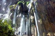 آبشاری زیبا در آمل/ عکس