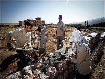 مجاهدت برای ساخت آشیانه مردم روستایی در استان بوشهر+ تصاویر