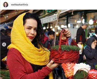 عکس زیرخاکی از خانم بازیگر