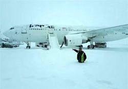 پروازهای فرودگاه امام تا ۸ صبح فردا متوقف شد