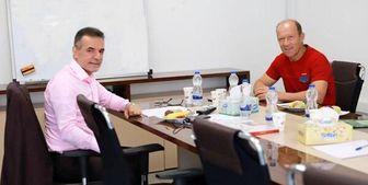 در جلسه مدیرعامل پرسپولیس با کالدرون چه گذشت؟