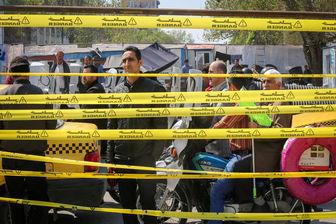 محدویت های ترافیکی در میدان بهارستان