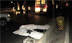 مرگ عابر پیاده در تصادف و فرار راننده