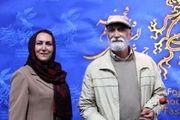 عیادت زوج محبوب بازیگر از پدر سالار/ عکس