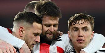 اولین پیروزی شفیلد پس از 6 ماه در لیگ برتر انگلیس
