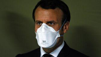 شیوه اعتراضی جدید فرانسویها به «ماکرون»+ عکس