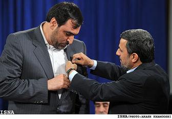 احمدی نژاد ۴ نشان ملی اعطا کرد