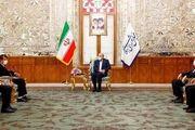 دیدار سفیر افغانستان با رئیس مجلس
