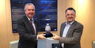 گفتوگو سفیر برزیل در ایران با رئیس فدراسیون والیبال